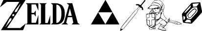Triforce font