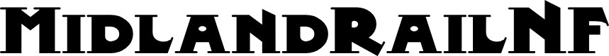 Preview image for MidlandRailNF Font