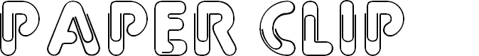 Preview image for Paper Clip Font