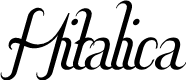 Preview image for Hitalica  Font