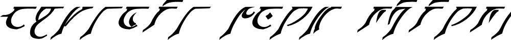 Preview image for Espruar Bold Italic