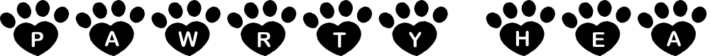 Preview image for JLR Pawrty Hearty Font