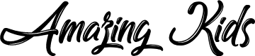 Preview image for Amazing Kids Font