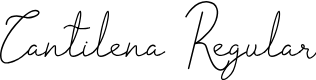 Preview image for Cantilena Regular Font