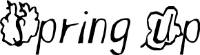 Preview image for Spring Up Font