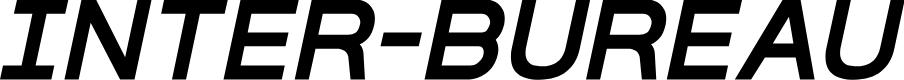 Preview image for Inter-Bureau Semi-Bold Italic