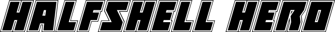 Halfshell Hero Academy Italic