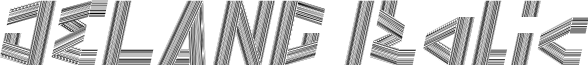 JELANG Italic