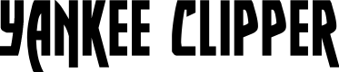 Preview image for Yankee Clipper Font