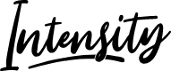 Preview image for Intensity Font