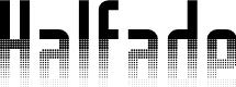 Preview image for Halfade Regular Font