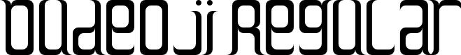 Preview image for Dudeoji Regular Font