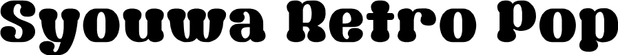 Preview image for Syouwa Retro Pop Font