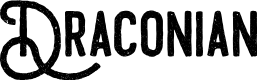 Preview image for Draconian Font