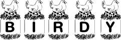 Preview image for KR Birdy Font