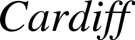 Preview image for Cardiff Italic