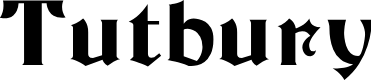 Preview image for Tutbury Font