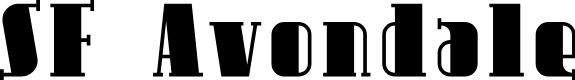 Preview image for SF Avondale Font