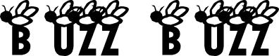 Preview image for AEZ buzz buzz Font