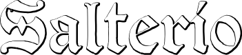 Preview image for Salterio Font