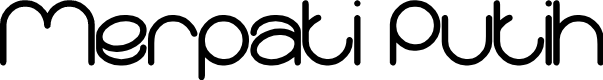 Preview image for Merpati Putih Font