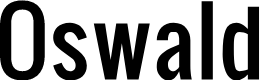 Preview image for Oswald  Font