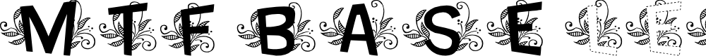 Preview image for MTF Base Leafy Font