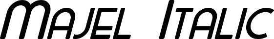 Preview image for Majel Italic