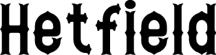 Preview image for Hetfield Font