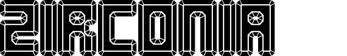Preview image for Zirconia Regular Font