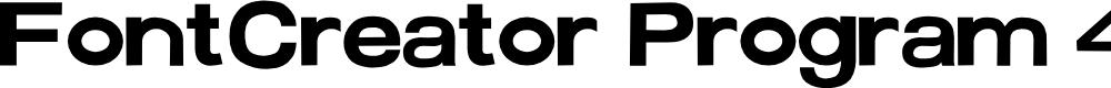 Preview image for FontCreator Program 4-1 Font
