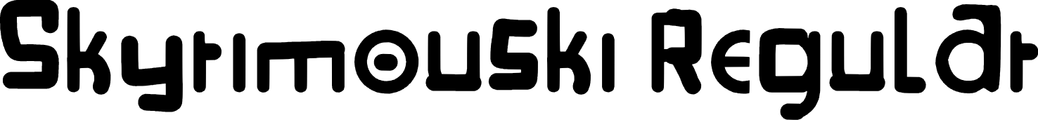 Skyrim Fonts Fontspace