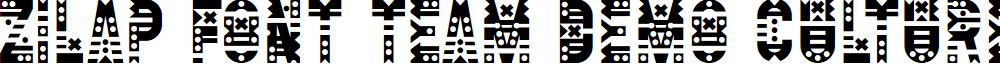 Zilap Font Team DEMO Culture font