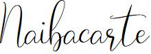 Preview image for Naibacarte Font