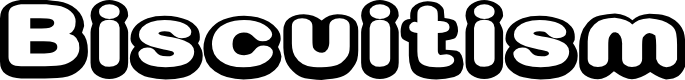 Preview image for D3 Biscuitism Font