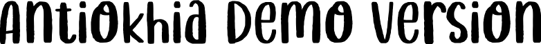 Antiokhia Demo Version