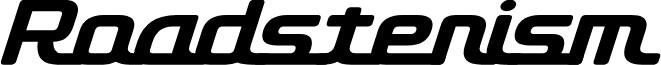 D3 Roadsterism Italic