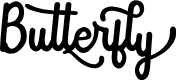 Preview image for Butterfly Font