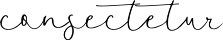 Preview image for consectetur Font