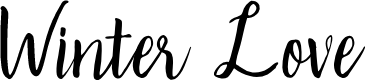 Preview image for Winter Love Font