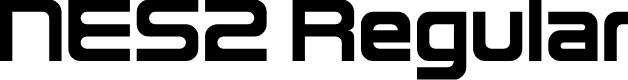 Preview image for NES2 Regular Font
