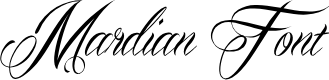 Preview image for Mardian Demo Font
