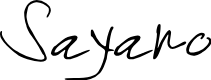 Preview image for Sayano Font