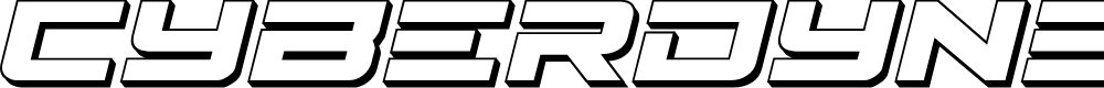 Preview image for Cyberdyne 3D Italic