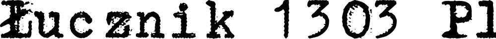 Preview image for Łucznik 1303 Plus Font