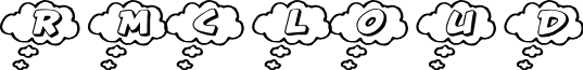 RMCloud font