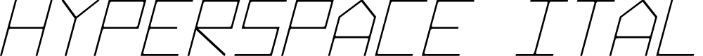 Preview image for Hyperspace Italic