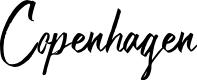 Preview image for Copenhagen Font