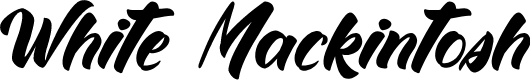 Preview image for White Mackintosh Font