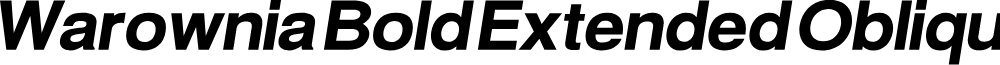 Warownia Bold Extended Oblique